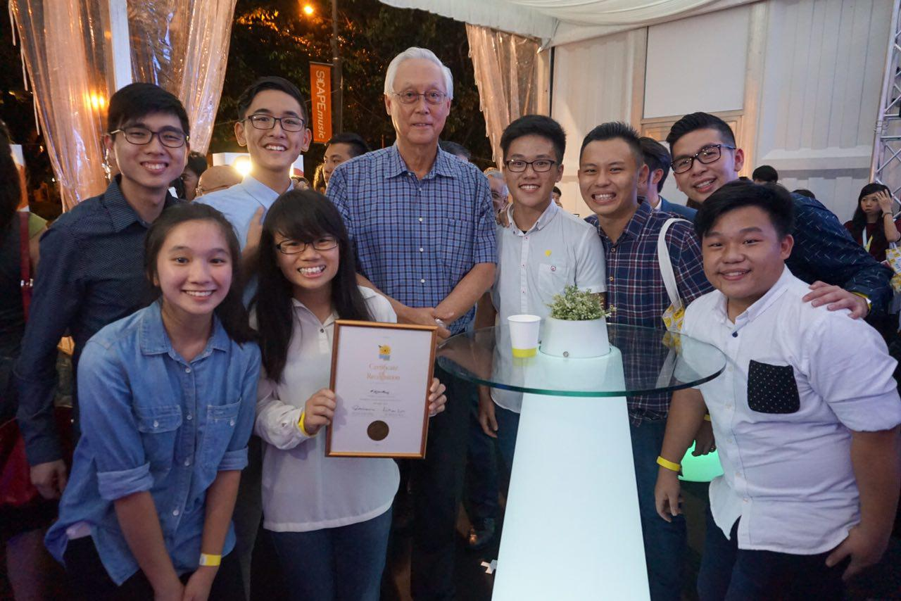Heart of God Church Love Others with ESM Goh Chok Tong